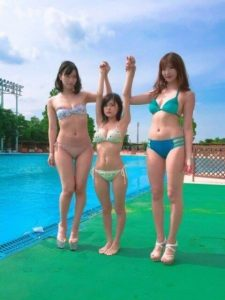 【画像】背が低い子は巨乳が多い:グラビアアイドルRaMu