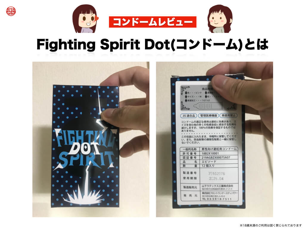 Fighting Spirit Dot(コンドーム)とは